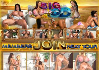 Big 3D Boobs